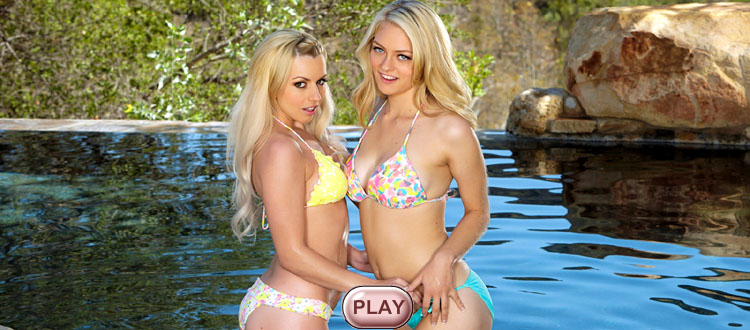 Angel Hott & Mira Sunset live stripping girl, video HiLo cards strip games