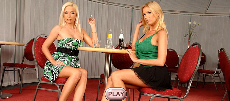 Alli Rae & Lexi Belle live stripping girl, video HiLo cards strip games