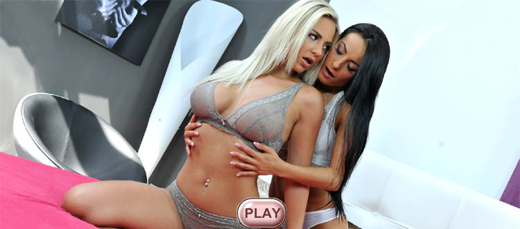 Nathaly Cherie & Lexi Dona live stripping girl, video HiLo cards strip games